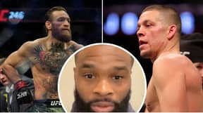 Tyron Woodley Calls Out Conor McGregor And Nate Diaz For UFC Fight On Saturday
