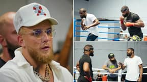 Tyron Woodley Fires Warning To Jake Paul After Training With Floyd Mayweather