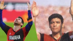 Barcelona Could Be Hit With €3000 Fine For Lionel Messi's Diego Maradona Tribute Celebration