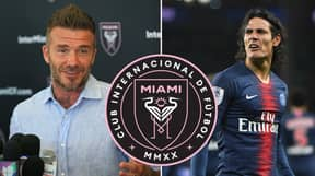 Edinson Cavani Rumoured To Become David Beckham's First Major Signing For Inter Miami
