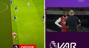 Arsenal Denied Penalty By VAR Because Nicolas Pepe's Elbow Is Offside In Baffling Decision