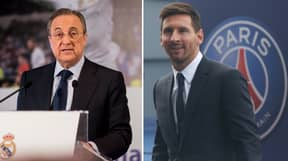 Florentino Perez Denies Bizarre Claim He Had Anything To Do With Lionel Messi Leaving Barcelona
