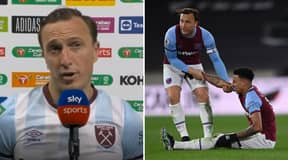 """""""He Didn't Do It At Our Place"""" - Mark Noble Calls Out Ex-Teammate Jesse Lingard"""