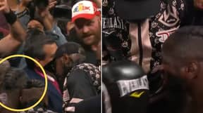 Footage Shows The Exact Moment Deontay Wilder Snubbed Tyson Fury's Handshake Amid 'Sore Loser' Comment