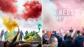 Fans Plan Another 'Glazer Out' Protest For Rearranged Liverpool Fixture