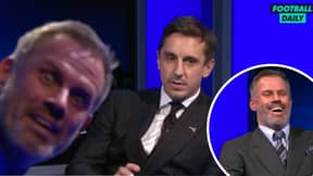 Jamie Carragher's Reaction To Gary Neville Naming Paul Pogba As 2021's 'Player To Watch' Is Priceless