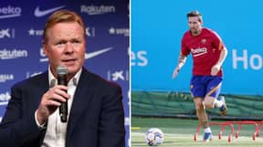 What Lionel Messi Promised Ronald Koeman In First Meeting Since Agreeing To Stay