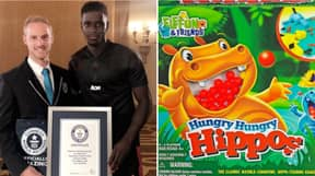 Axel Tuanzebe Holds A Guinness World Record For Quickest Time Taken To Clear A Game Of Hungry Hippos