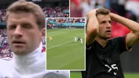 Life Came At Thomas Muller Very Fast In England vs Germany