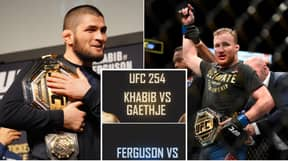 Khabib Nurmagomedov Reveals UFC 254 Line-Up And Says It's The Best Card Of The Year