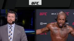 UFC Fighter Walks Out Of Post-Fight Interview After Learning Of Navid Afkari's Execution