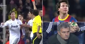 Lionel Messi Delivered One Of Football's 'Coldest Moments' After Sergio Ramos Horror Tackle