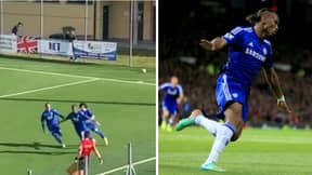 Didier Drogba's Son Scores First Pro Goal And Celebrates Just Like His Dad