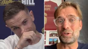 Jordan Henderson Gets Emotional After Jurgen Klopp's Congratulatory Message