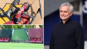 Jose Mourinho Using Drones To Revolutionise Roma's Pre Season Training