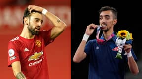 Olympic Medalist Brilliantly Responds To People Saying He Looks Like Bruno Fernandes