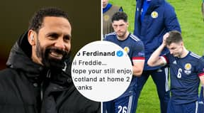Rio Ferdinand Leaves Scottish Fan Red-Faced For Giving Him Grief Over Declaration That England Could Win Euro 2020