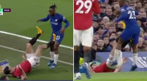 Fans Brand Manchester United 'VARchester' After Harry Maguire Escapes Red Card