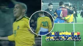 Barcelona Once Played Against Brazil In A Real Match Back In 1999 And It's So Bizarre