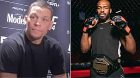 Jon Jones Responds After Nate Diaz Brings Up Steroid Use