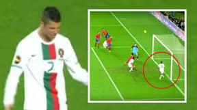 When Cristiano Ronaldo Was Denied A Goal By Nani