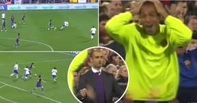 The Amazing Lionel Messi Goal That Blew Thierry Henry's Mind At Barcelona