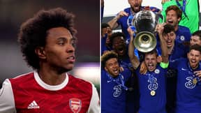 Willian's Vow To Win The Champions League With Arsenal After Leaving Chelsea Came Back To Haunt Him