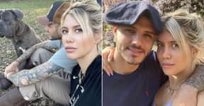 Wanda Icardi Defends PSG's Mauro After Instagram Deletes His Post Calling Her 'Female Dog'