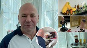 Dana White Gives UFC Fans A Virtual Tour Of His Insane 'Fight Island' Hotel Room