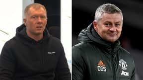 Paul Scholes Says Ole Gunnar Solskjaer Deserves A New Deal For Creating Exciting Team