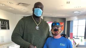 Shaquille O'Neal Randomly Pays For Young Man's Engagement Ring