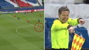 Kylian Mbappe Controversially Flagged Offside When He Was On During PSG Vs. Bayern Munich