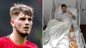 Harvey Elliott Responds To Manchester United Fan Who Mocked His Injury On TikTok