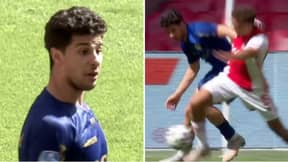 Zinedine Machach Suspended After 'In The Street I Kill You' Comment To Ajax Player Devyne Rensch
