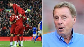 Harry Redknapp Says Liverpool Should Be Handed The Premier League Trophy Now