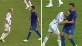 Marco Materazzi Reveals What He Said To Zinedine Zidane Before Headbutt
