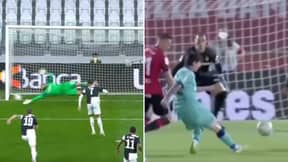 Video Shows The Massive Difference Between Cristiano Ronaldo And Lionel Messi In Their First Games Back