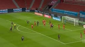 Patrik Schick Thwacks Brilliant Volley Goal Against Bayern Munich