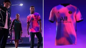 PSG Unveil New Fourth Kit With Nike Jordan Brand