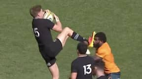 All Black's Controversial Sending Off Against Australia Sparks Debate Among Rugby Fans