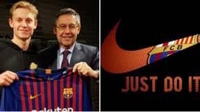 Frenkie De Jong Signed For Barcelona Over PSG 'Because Of Nike's Involvement'