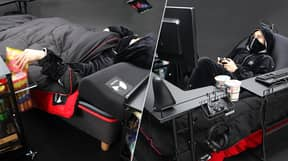 The Ultimate 'Gaming Bed' Finally Exists