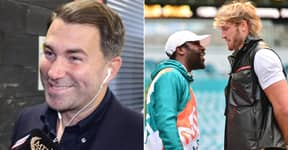 Eddie Hearn's Hilarious Reaction To 'Dreadful' Floyd Mayweather Vs Logan Paul Fight Being On PPV