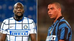 Romelu Lukaku Has Surpassed Ronaldo's Inter Milan Goalscoring Record In 13 Fewer Games