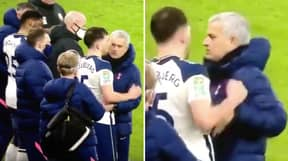 Jose Mourinho Had To Physically Stop Pierre-Emile Højbjerg From Going Back On The Pitch After Nasty Leg Injury
