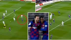 Lionel Messi's Winning Goal Against Granada Was The Most Barcelona Goal Ever