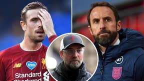 Gareth Southgate Confirms Jordan Henderson Issue As Liverpool's Horror Injury List Grows