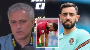 Jose Mourinho Slams Bruno Fernandes For Going Missing At Euro 2020 In Scathing Analysis