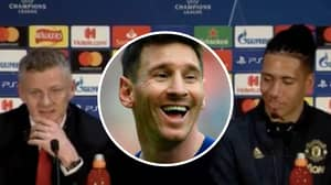 Chris Smalling Says He's Relishing Challenge Of Facing Lionel Messi