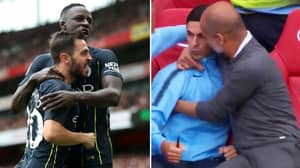 Mikel Arteta Had A Big Influence On Benjamin Mendy's Assist
